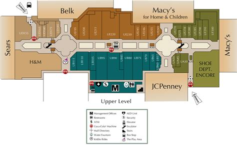 layout of valley view mall mall directory valley view mall
