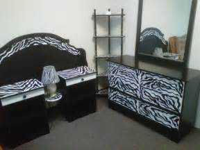 Cute zebra bedroom furniture theme decor ideas for teen