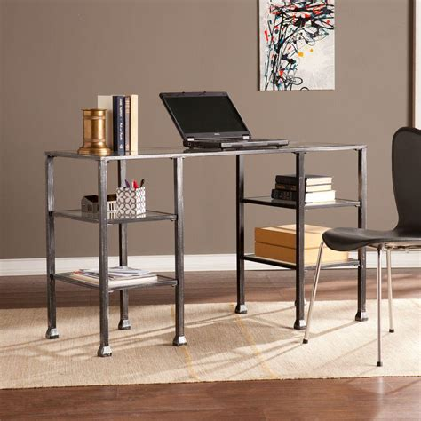 southern enterprises writing desk sauder carson forge collection 46 in w writing desk with