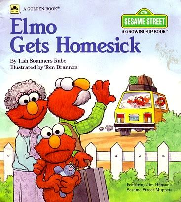 homesick book elmo gets homesick muppet wiki