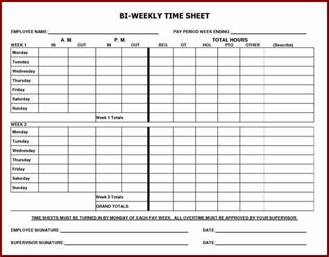 6 Free Excel Timesheet Template With Formulas Exceltemplates Exceltemplates Free Excel Timesheet Template With Formulas