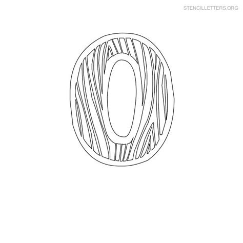 printable letter stencils for wood stencil letters o printable free o stencils stencil