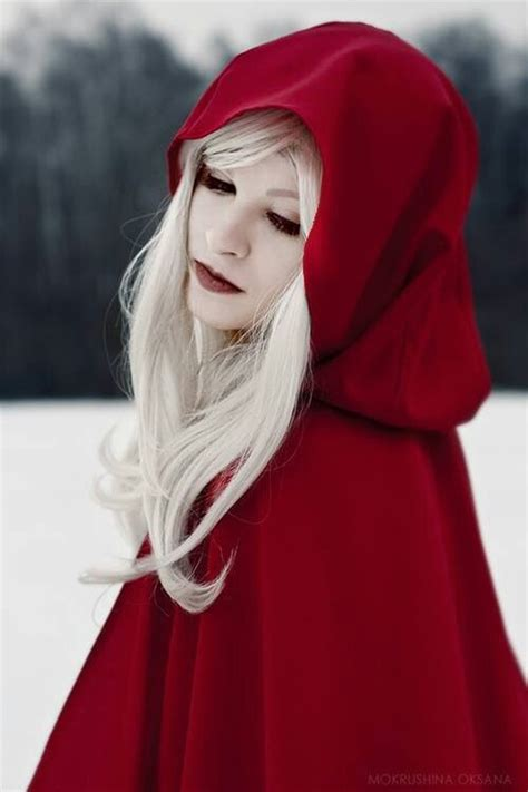 black hair with red riding hood little red riding hood cosplay pinterest