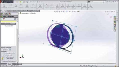 solidworks tutorial mirror solidworks 2014 tutorial mirror components about the