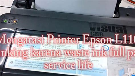 Printer Epson L210 Di Bali reset printer epson l110 l210 l300 l310 blinking