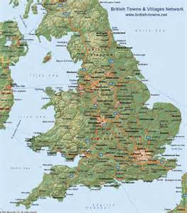 England On A Map by Gallery For Gt England On Map