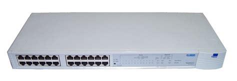 Switch Hub 24 Port 3com Di Jakarta 3com 3c16406 superstack ii 24 port ps hub 40 no rack