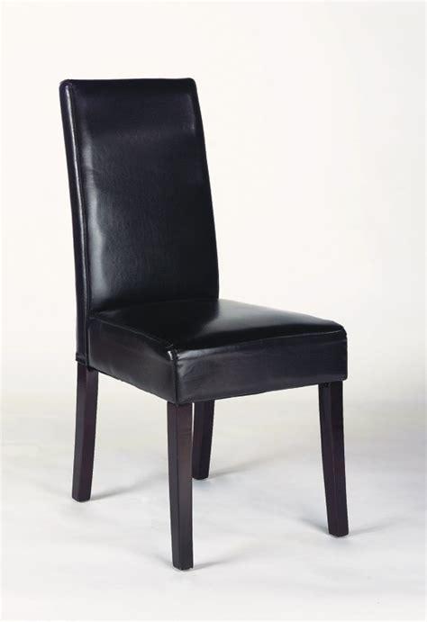 chaises contemporaines salle manger chaises de salle 224 manger contemporaines en pu brun lot