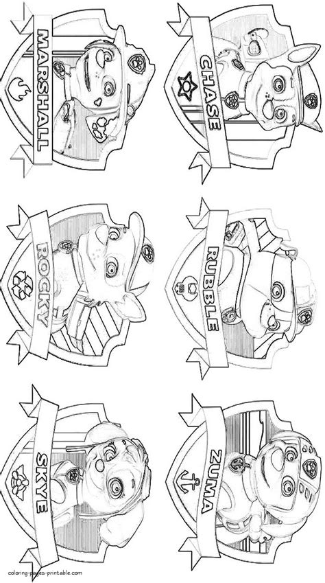 paw patrol lookout coloring page paw patrol lookout coloring pages free printables paw