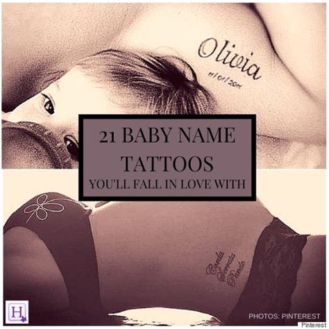 baby boy names tattoo designs baby name tattoos you ll fall in with huffpost canada