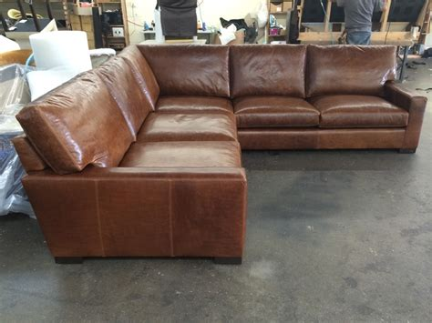 vintage leather sectional vintage leather sectional sofa sectional collections rh