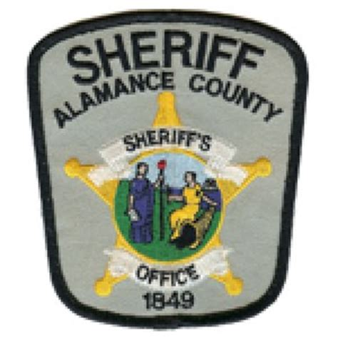 Alamance County Sheriff S Office by Sheriff Mercellus P Robertson Alamance County Sheriff S
