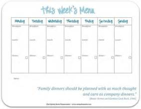 family menu template 30 family meal planning templates weekly monthly budget