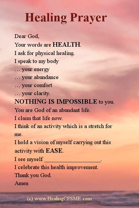 wellness prayers comfort healing healing prayer for cfs chronic fatigue syndrome also me