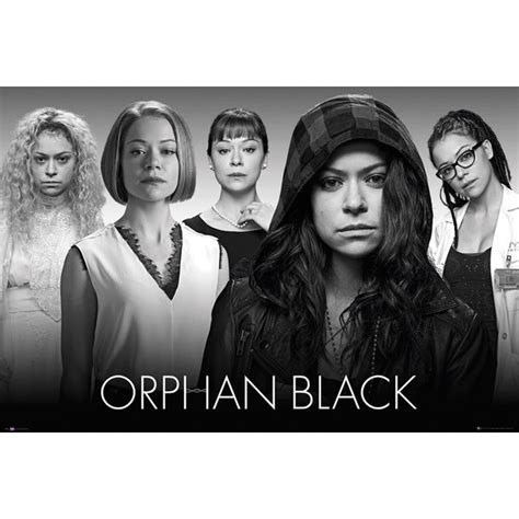 black tv series orphan black tv show poster movie posters usa