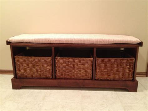 hall storage bench with baskets storage bench with baskets elegant furniture design