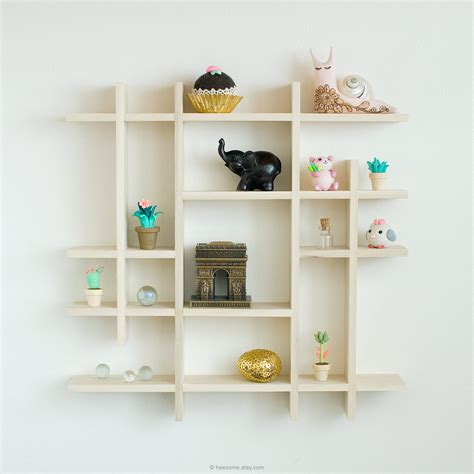 Shadow Boxes With Shelves Shadow Box Shelf Wooden Shadowbox Small Shadow Box