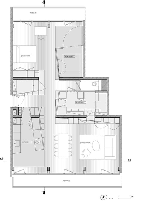 100 H2o Residences Floor Plan Gallery Of Renewal | 100 h2o residences floor plan gallery of renewal