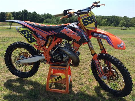 Ktm 450 2 Stroke Lets See The Ktm 2 Strokes Moto Related Motocross