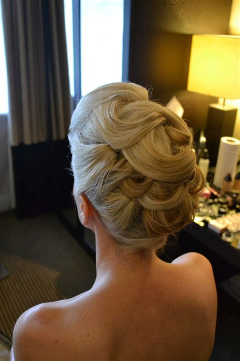 Wedding Hair Up Images by Structured Wedding Hair