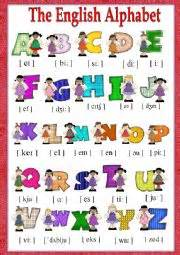 the english alphabet workheet n 644398