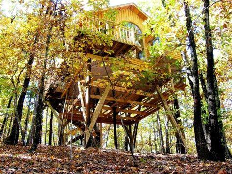 the original treehouse cottages eureka springs ar