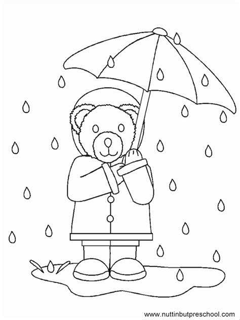 raindrops coloring page printable raindrops coloring home