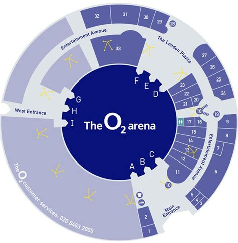 o2 floor seating plan millennium dome o2 arena data photos plans