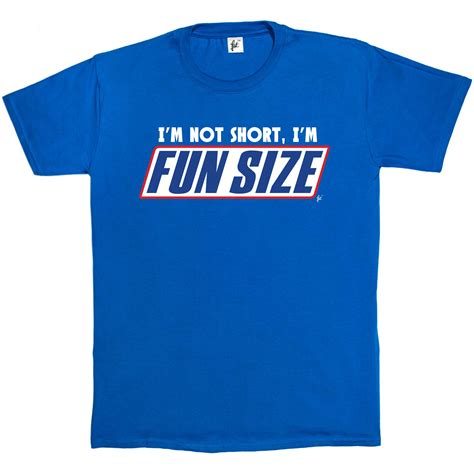 Kaos Im Not i m not i m sized snickers marathan mens t shirt ebay