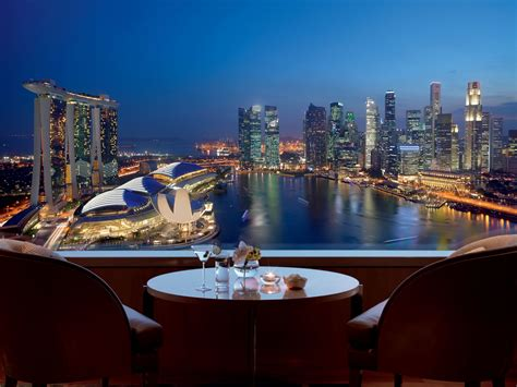 best singapore hotel luxury hotel near marina bay the ritz carlton millenia