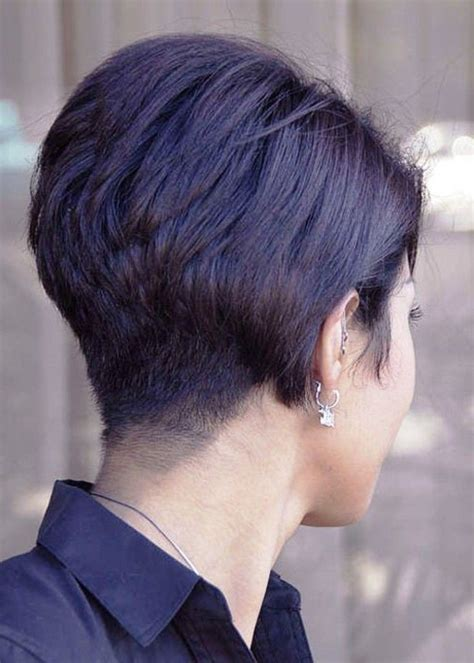 short wedge hairstyles  view stacked bob haircut