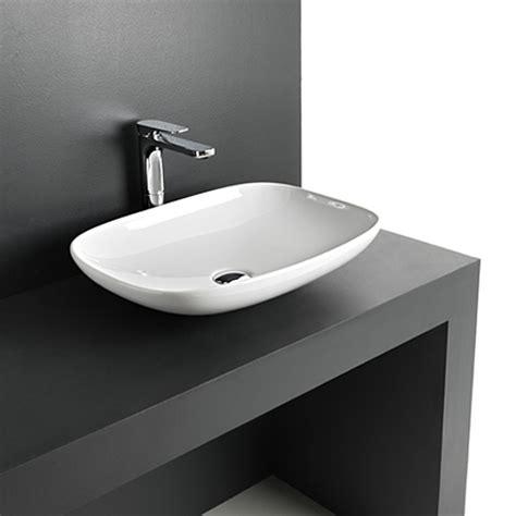 lavandino appoggio bagno lavabi appoggio lavabo d appoggio la fontana 55