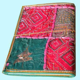 Handmade Paper Diary - handmade paper diary patchwork cover dfp 03 jpg