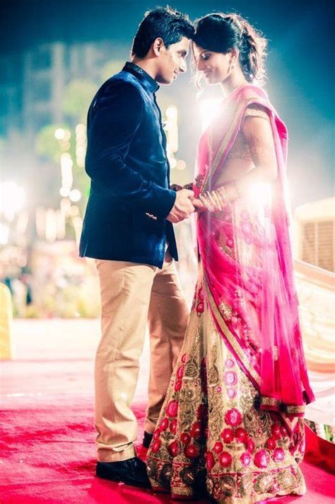 love the bride's outfit! beautiful couple   ?Desi Wedding
