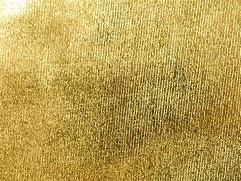 Used Drapes Gold Tissue Lame Fabric