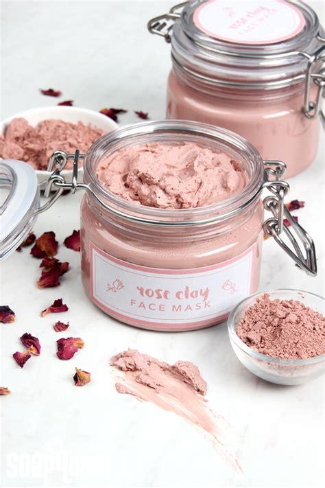 moisturizing diy clay mask recipe rosehip clay masks and masking clay mask diy teach soap