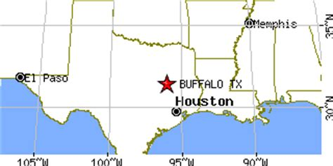 buffalo texas map buffalo texas tx population data races housing economy