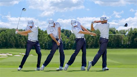 the golf swing swing sequence troy merritt photos golf digest