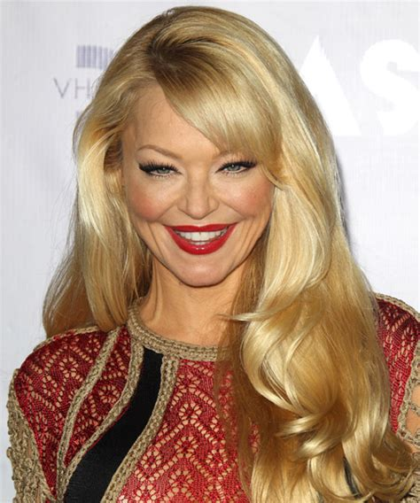 Charlotte Ross Long Straight Formal Hairstyle with Side