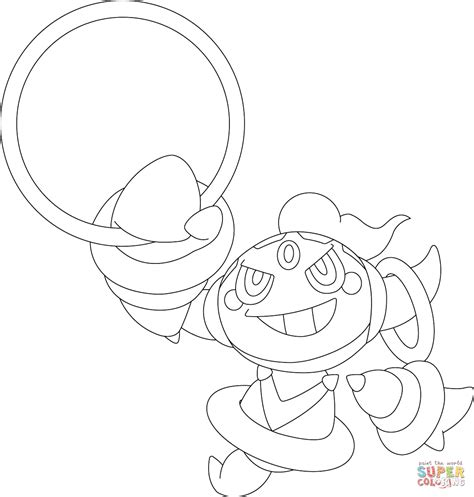 pokemon coloring pages hoopa hoopa pokemon coloring page free printable coloring pages