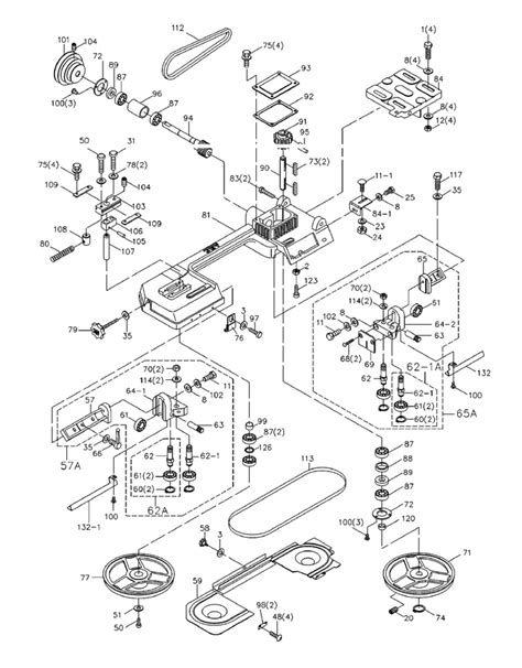 jet band saw parts diagram jet band saw parts diagram automotive parts diagram images