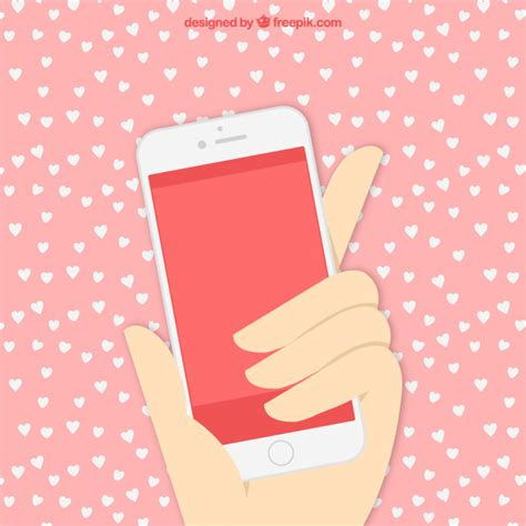 in mobile phone free with mobile phone vector free