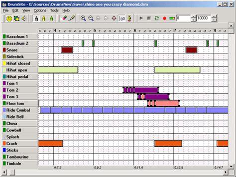 drum pattern software free drumsite drum machine