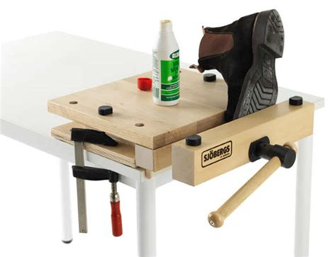 portable bench vice sjobergs smart vise adds a portable worktop and vise to