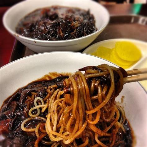 membuat mie hitam food l0ver d resepi masakan korea mie jajangmyeon mie