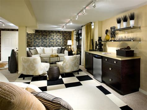 Design For Basement Makeover Ideas Modern Furniture Basements Decorating Ideas 2012 By Candice