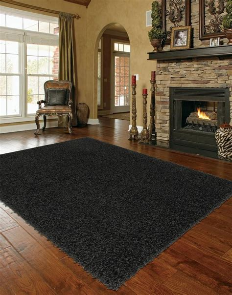 Solid Black Area Rugs Solid Black Area Rugs Roselawnlutheran