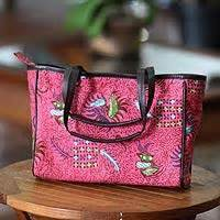 Batik Indramayu 1 cotton batik tote bag indramayu novica