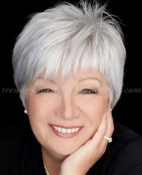 trendy gray hair styles choose an elegant waterfall hairstyle for your next event