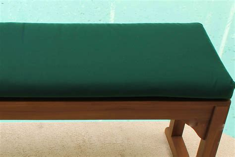 how to put a cushion on a bench sale sunbrella 48in backless bench cushion oceanic teak